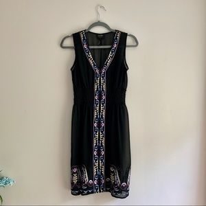 Laundry • Sheer Embroidered Cover Up Slip Dress
